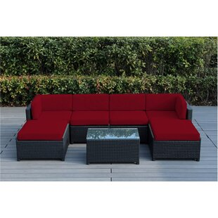 Brough 7 Piece Sectional Set with Cushions