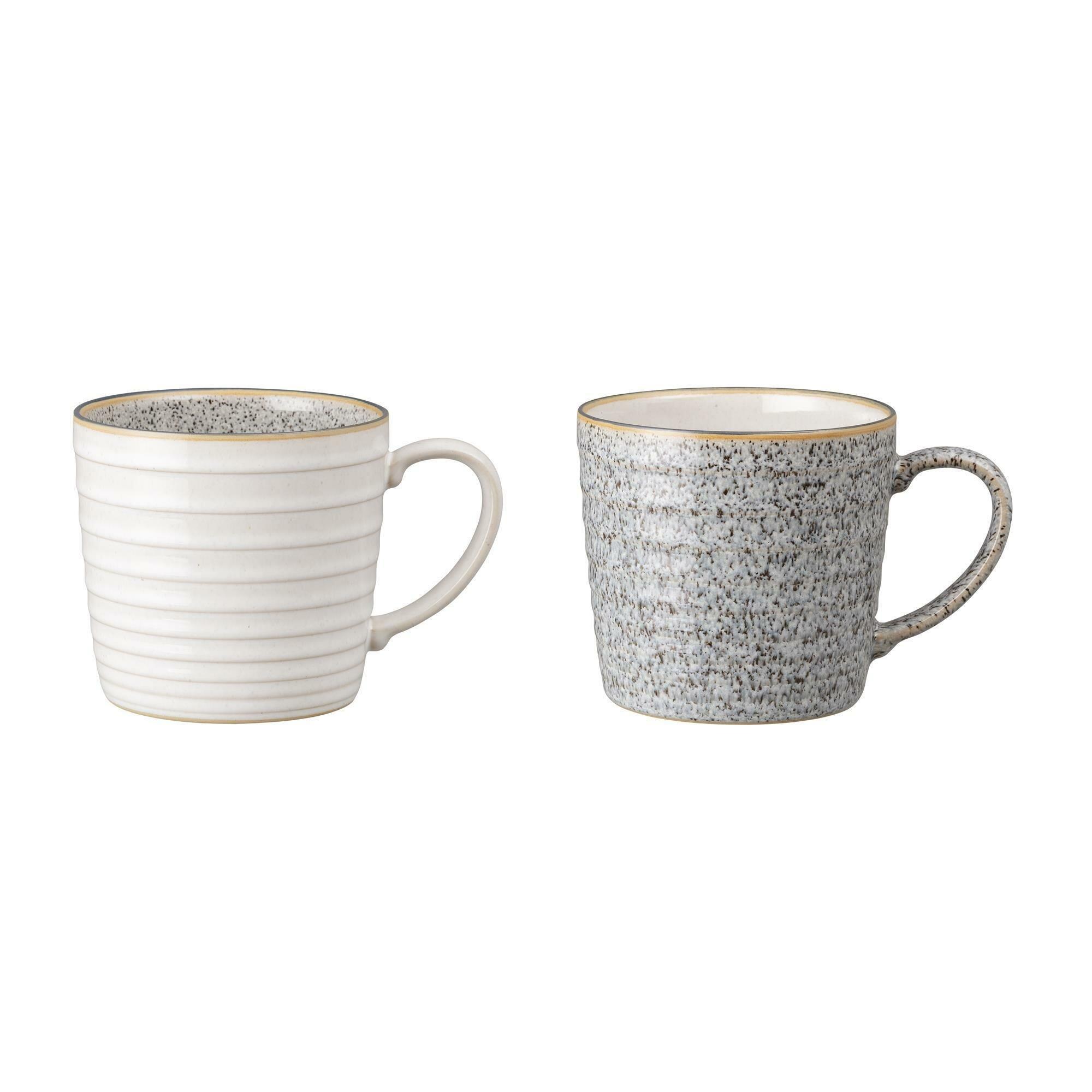Denby Studio Grey 2 Piece Coffee Mug Set Reviews Wayfair