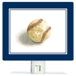 Oopsy Daisy Non-Personalized Sports and Games Game Ball Canvas Night Light