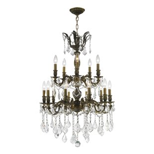 Weisser 15-Light Candle Style Chandelier ByAstoria Grand