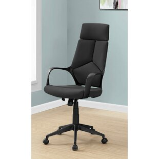 Review Kraker High Back Executive Office Chair by Symple Stuff