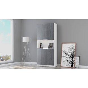 Logan V2 4 Door Storage Cabinet By Vladon
