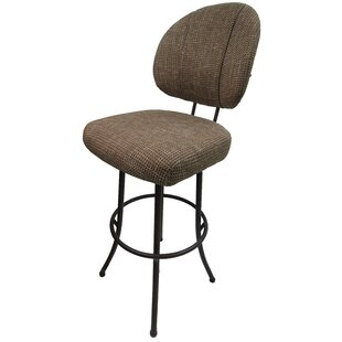 Sibyl 30 Swivel Bar Stool Red Barrel Studio