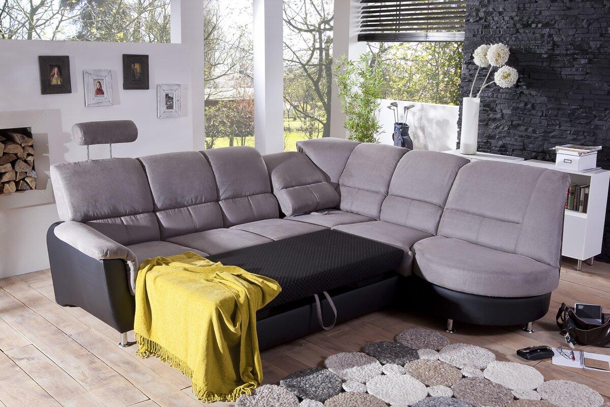 benformato ecksofa paso mit bettfunktion bewertungen. Black Bedroom Furniture Sets. Home Design Ideas