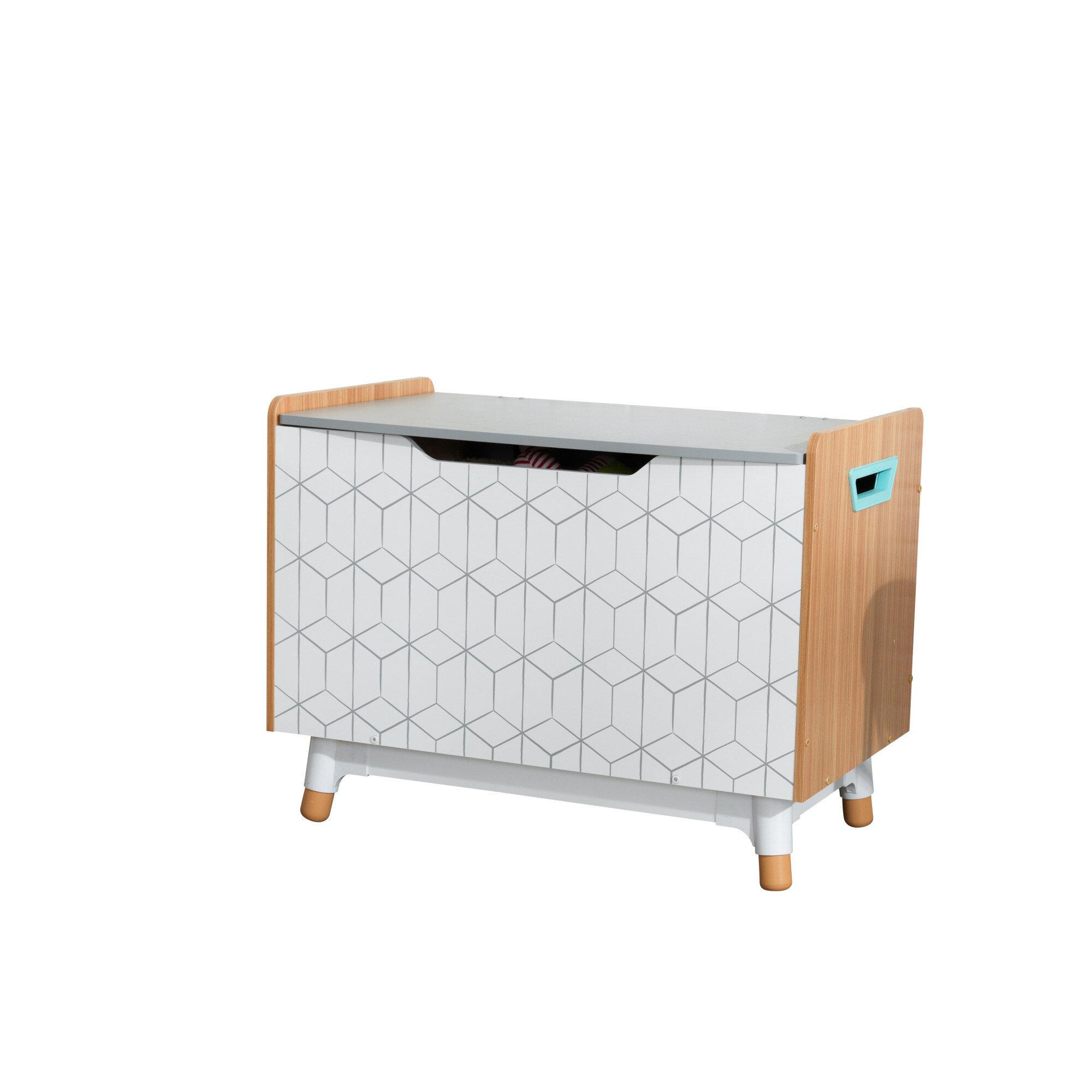 Fine Mid Century Kid Toy Storage Bench Download Free Architecture Designs Grimeyleaguecom