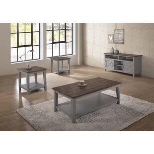 Gracie Oaks Drewery 2 Piece Coffee Table Set