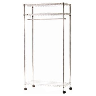 Lowton 90cm Wide Clothes Rack By House Additions