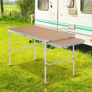Ballymena Folding Aluminum Camping Table By Sol 72 Outdoor