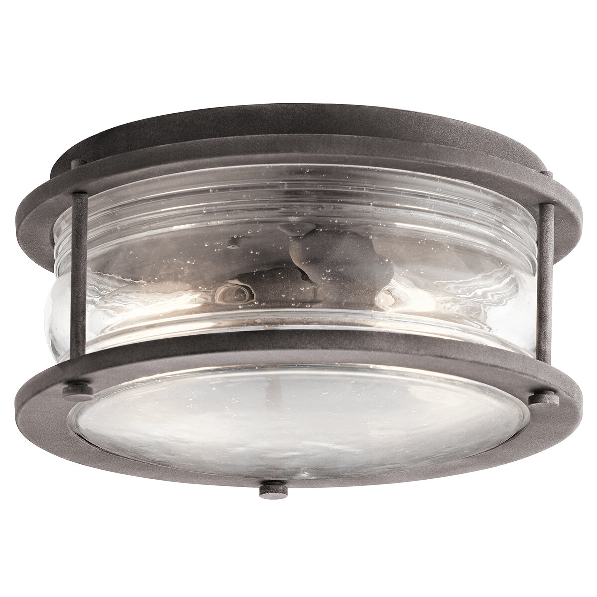 West Elk 2 Light Outdoor Flush Mount