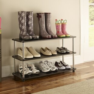 Check Prices 12 Pair Shoe Rack By ClosetMaid