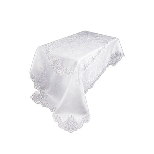 Christofer Lace Embroidered Cutwork Tablecloth