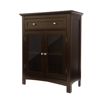Wooden Freestanding 2 Door Accent Cabinet by Glitzhome