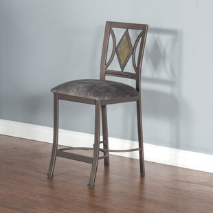 Abbottstown 24 Bar Stool Fleur De Lis Living