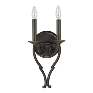 Higham 2-Light Wall Sconce