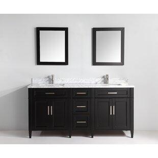 vanity double sink 72. Save to Idea Board  Vanity Art 72 Inch Vanities You ll Love Wayfair