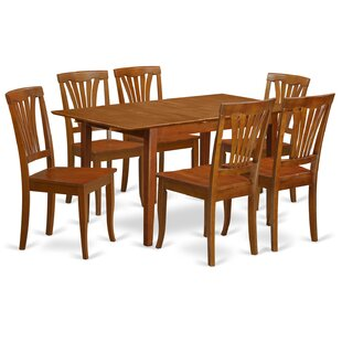 Picasso 7 Piece Extendable Dining Set by Wooden Importers Wonderful