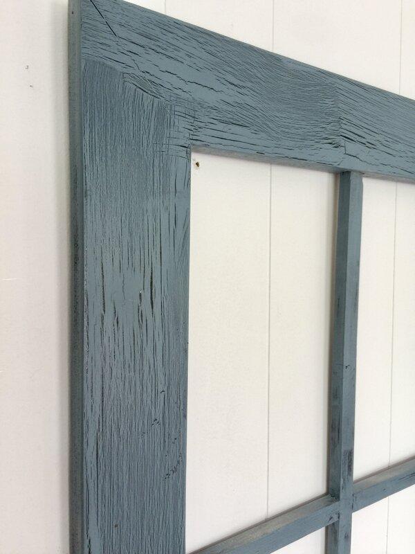 rustic window frame wall dcor - Window Frame Decor