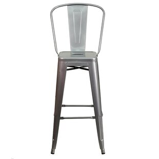Ferrin High Back 26 Bar Stool (Set of 4) 17 Stories