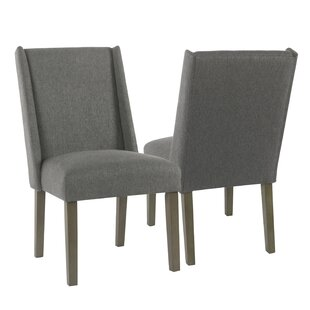 Bowers Upholstered Dining Chair (Set of 2) Rosecliff Heights