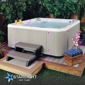 western star 6person 50jet spa with waterfall