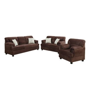Low priced Crean 3 Piece Living Room Set by Red Barrel Studio Reviews (2019) & Buyer's Guide