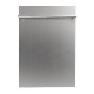 18'' 40 dBA Built-in Dishwasher with Stainless Steel Tub by ZLINE Kitchen and Bath