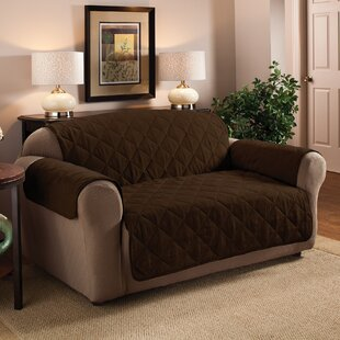 Pet Box Cushion Loveseat Slipcover