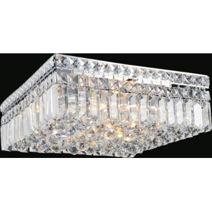 Willa Arlo Interiors Navya 6-Light Flush Mount