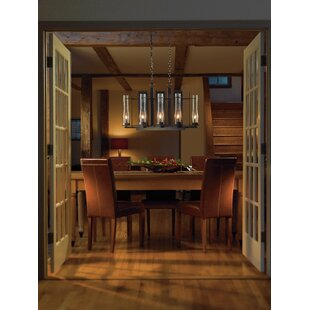 Hubbardton Forge New Town 8-Light Kitchen Island Pendant