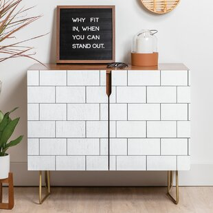 Brick Imperfection Sideboard East Urban Home