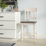 Westhoff Solid Wood 24 Counter Stool (Set of 2) by Gracie Oaks