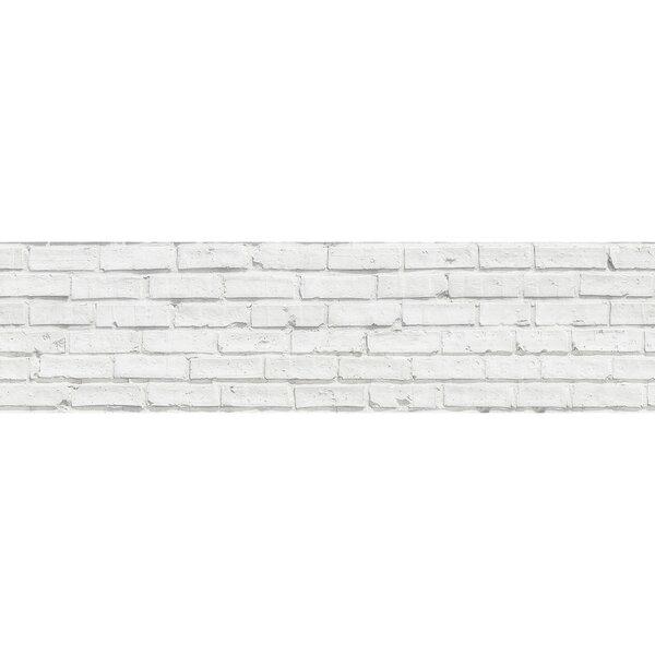 Wallpops 17 71 X 70 8 Peel And Stick Vinyl Wall Paneling In White Wayfair