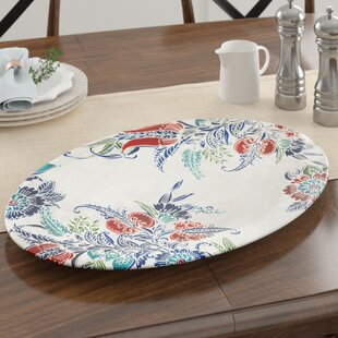 Nataly Marietta Serving Melamine Platter by Alcott Hill Today Sale Only