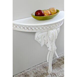 Searching for Betty Half-Circle Console Table ByAstoria Grand