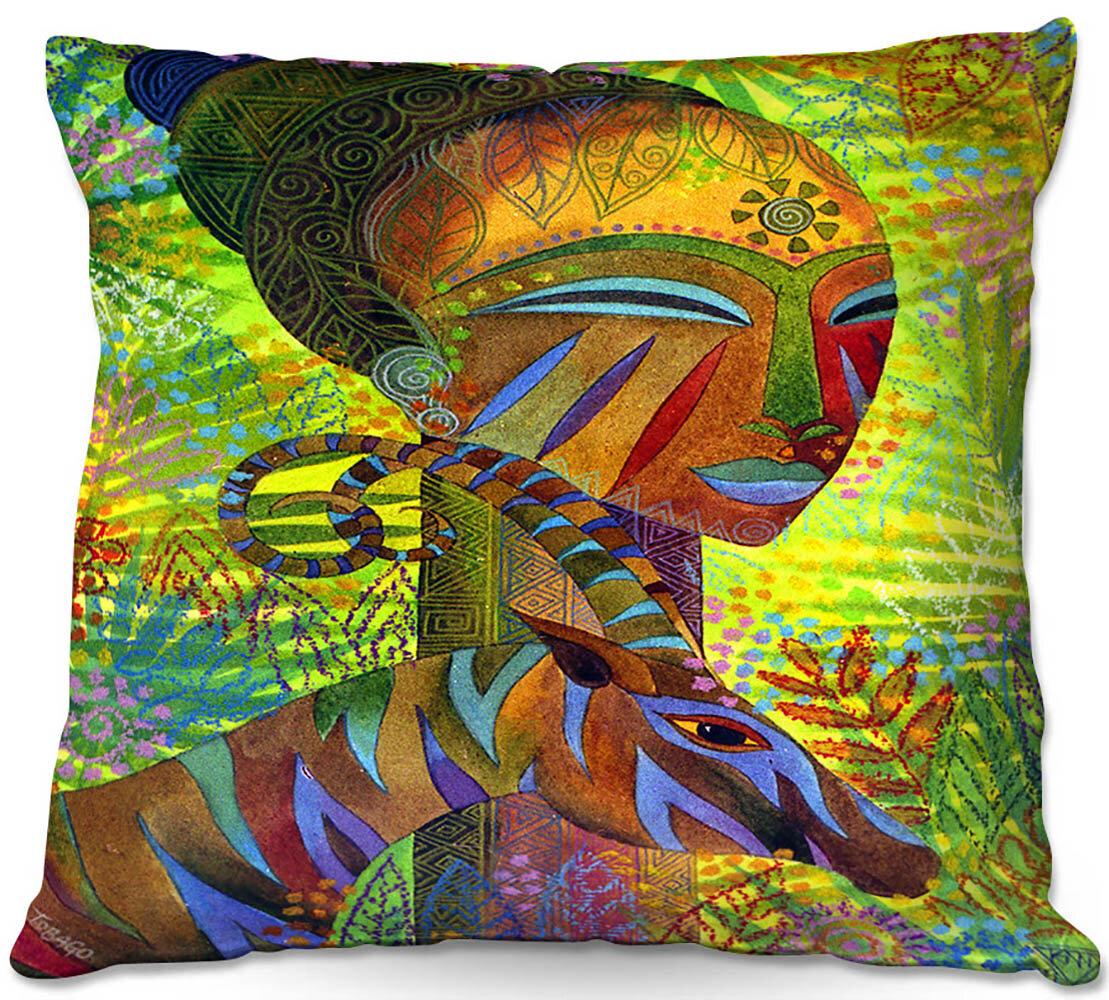 East Urban Home Couch African Queens Throw Pillow Reviews Wayfair