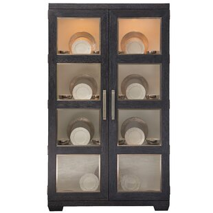 Decorage Display Lighted Curio Cabinet