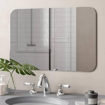 Wade Logan Brizendine Modern Contemporary Bathroom Vanity Mirror Reviews Wayfair