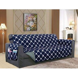 Reversible Furniture Protector Box Cushion Sofa Slipcover By Winston Porter