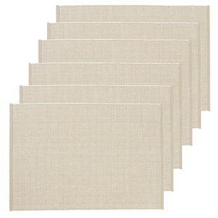 Sharpe Placemat (Set of 6) byCharlton Home