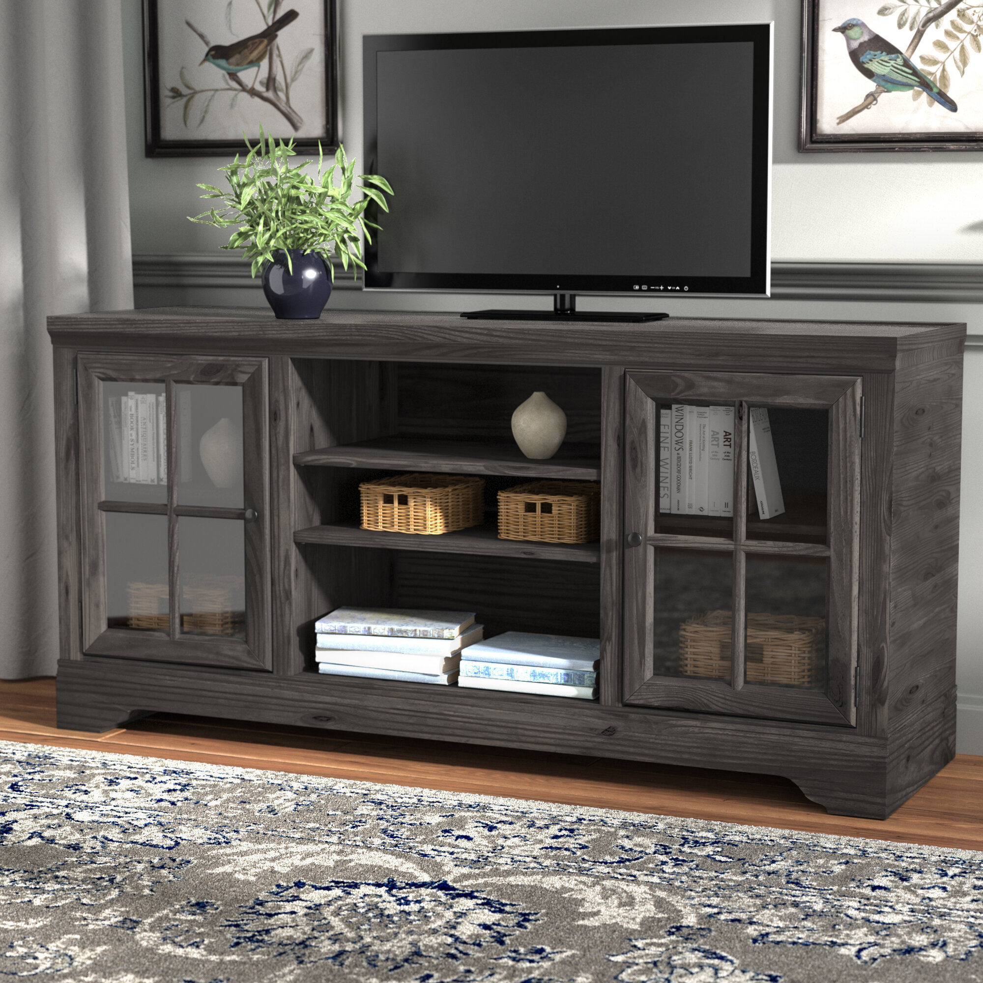 Rustic Style Entertainment Centers