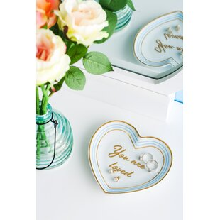 You Are Loved Heart Trinket Dish