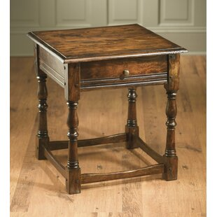 Carrillo End Table With Storage