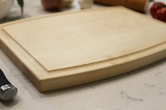 Etchey Maple Wood Cutting Board Wayfair