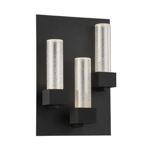 Stumbaugh 3-Light LED Wall Outdoor Sconce