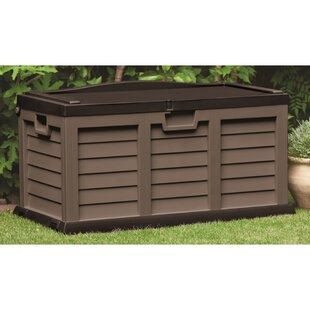 Starplast 116 Gallon Plastic Deck Box
