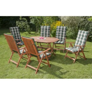 Colley 6 Seater Dining Set With Cushions Image