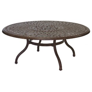Fairmont Metal Chat Table by Astoria Grand