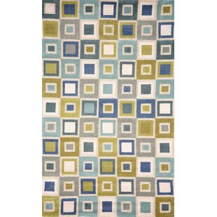 Nelda Big Squares Indoor/Outdoor Rug