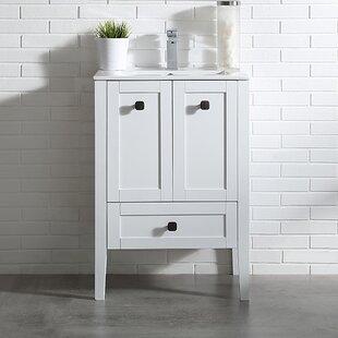Compare prices Andora 24 Single Bathroom Vanity Set ByOve Decors