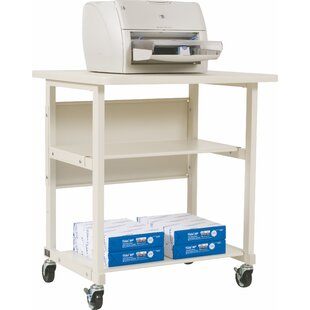 Mobile Printer Stand with 2 Shelves by Balt